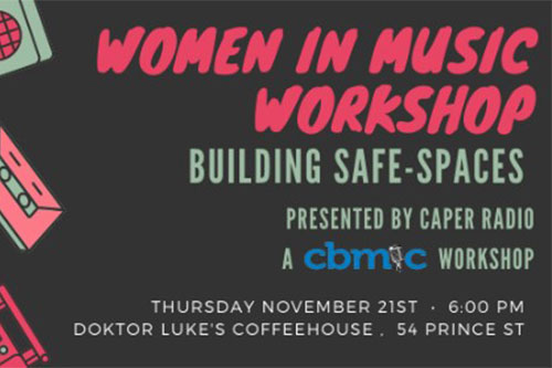 CBMIC and Caper Radio Team up to Present a New Workshop for November 2019